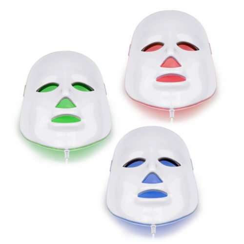 led face mask therapy